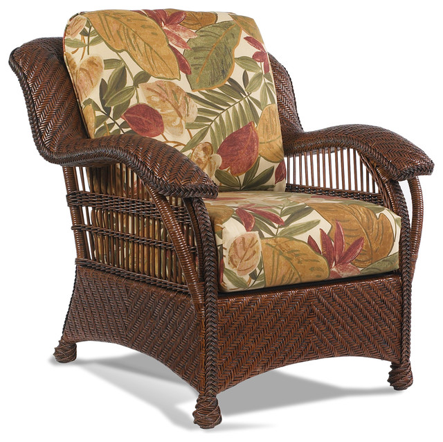 Casablanca Wicker Rattan Chair Tropical Furniture