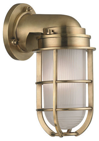 Wall Sconces Nautical : Hudson Valley Lighting 240 Carson 1 Light Nautical Outdoor Wall Sconce - Transitional - Outdoor ...