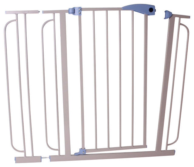 Hallway Security Gate - Contemporary - Baby Gates And Child Safety - by Welland Industries LLC