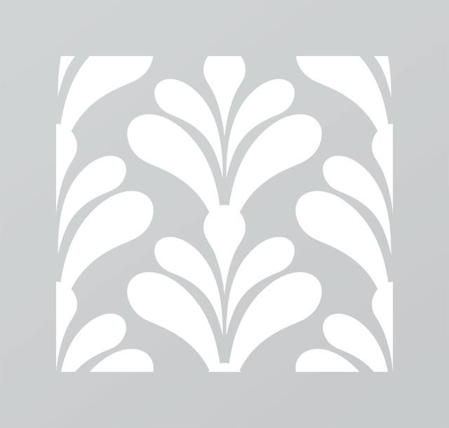 Just A Trace Garbo Art Deco Pattern Stencil 20 Inch