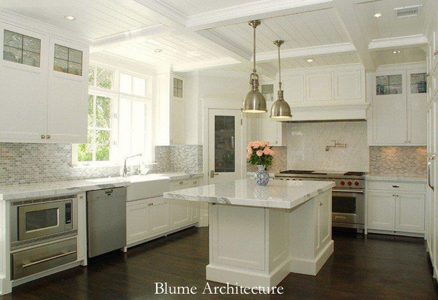 Classical Renovation traditional-kitchen