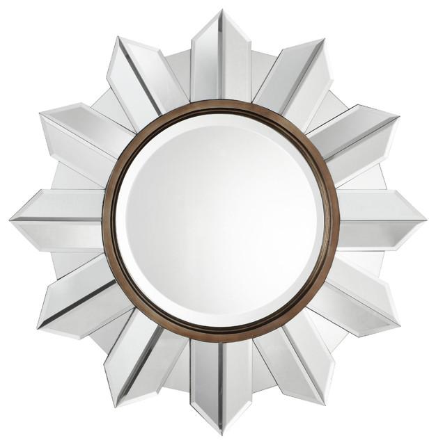 www.essentialsinside.com: Evan Sunburst Mirror contemporary-wall-mirrors