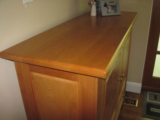 Cherry/Maple sideboard eclectic-buffets-and-sideboards