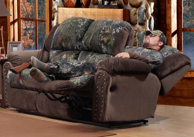Littleton Rustic Lodge Reclining Sofa Sofas By Modern