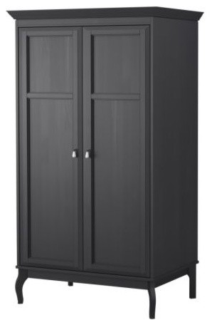 Edland wardrobe with 2 doors traditional armoires and wardrobes by ikea - Armoire furniture ikea ...