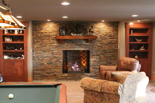 Basement Remodel in Denver traditional-basement