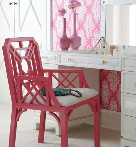 Lilly Pulitzer Boulevard Armchair asian-armchairs-and-accent-chairs