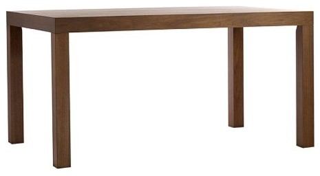 Parsons Dining Table, Rectangle contemporary dining tables