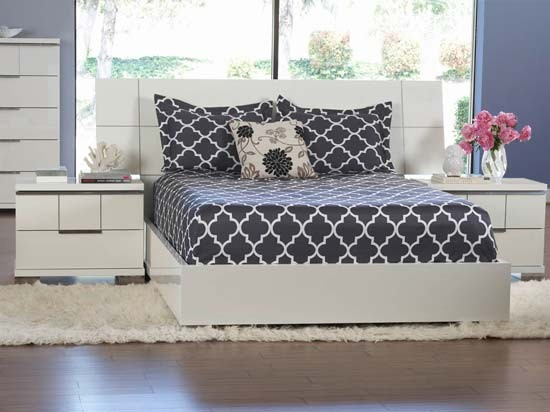 asti bed contemporary beds by dania furniture