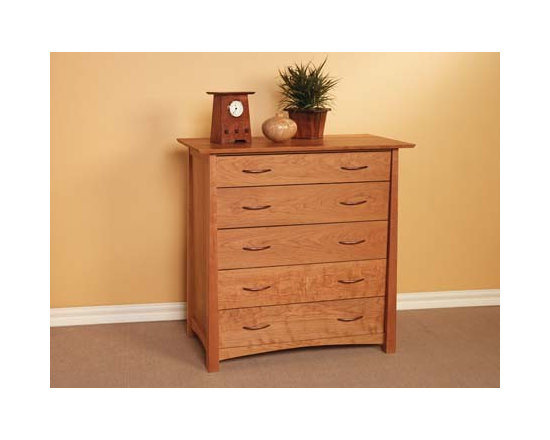 KYOTO 5 DRAWER VERTICAL DRESSER - In honor of the city that is home to many of the most stunning shrines and temples in Japan, the Kyoto collection was inspired by the majestic lines of traditional Tori gates.