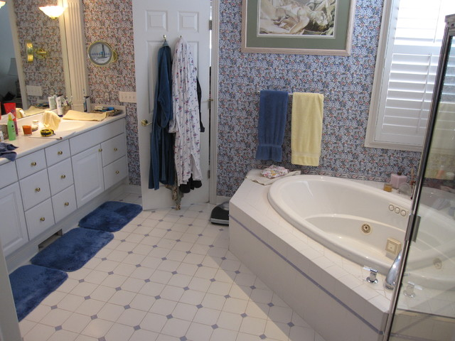Periwinkle master bathroom traditional other metro for Periwinkle bathroom ideas