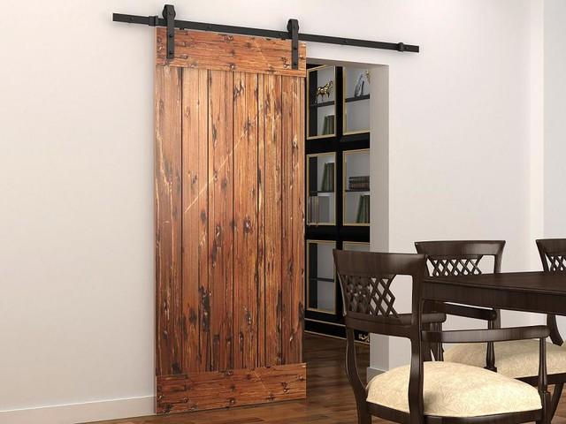 Sliding barn door rustic barn door hardware for Indoor sliding doors