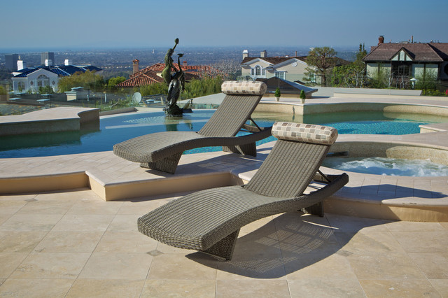 Portofino™ Signature Lounger in Weathered Grey outdoor-chaise-lounges