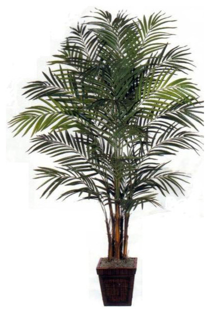 8' Areca Palm Full-Bodied Artificial Tree asian-artificial-flowers-plants-and-trees