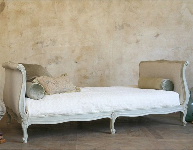 Eloquence Clignancourt Twin Daybed, Swedish Gray traditional-day-beds-and-chaises