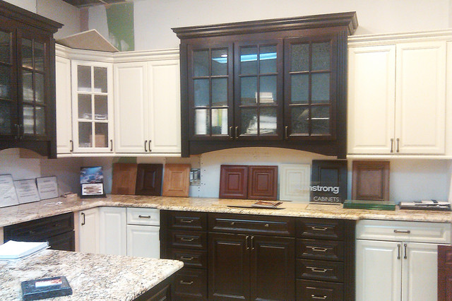 Armstrong Waverly Kitchen Cabinet Display