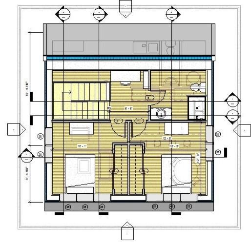 Passive House Design Eclectic Floor Plan Portland