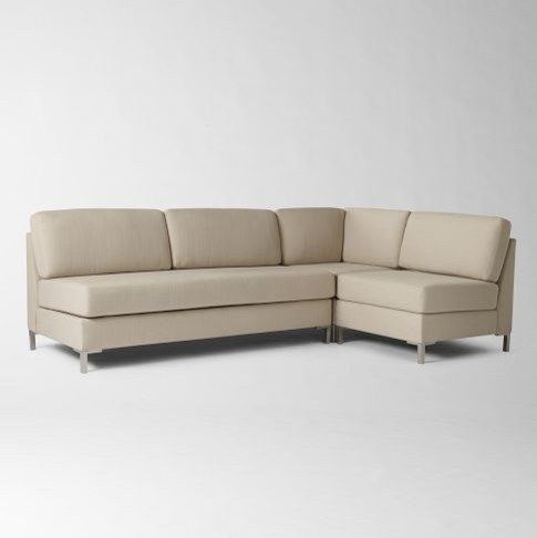 Armless Sectional Contemporary Sectional Sofas By