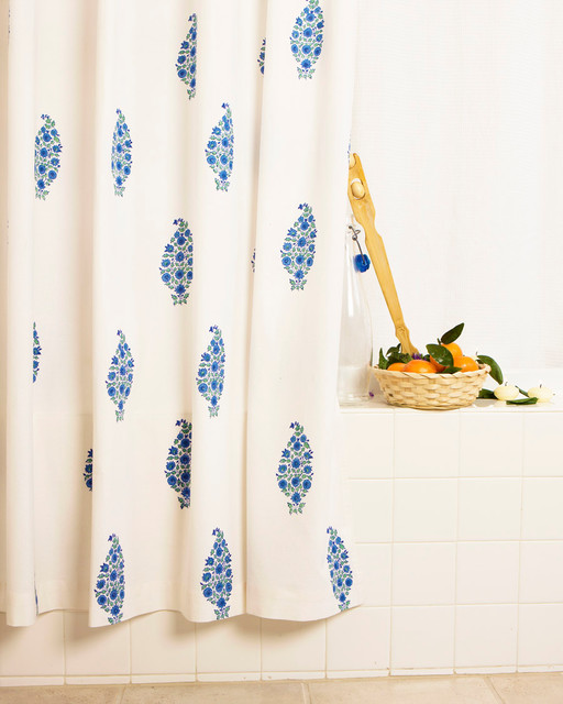 Yellow Black Shower Curtain French Style Kitchen Curtains