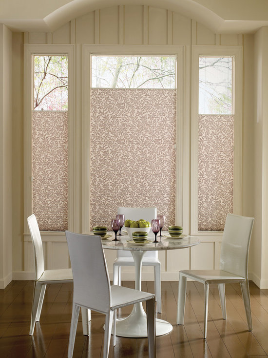 Hunter Douglas Products - Hunter Douglas Pleated Shade in Eating Area