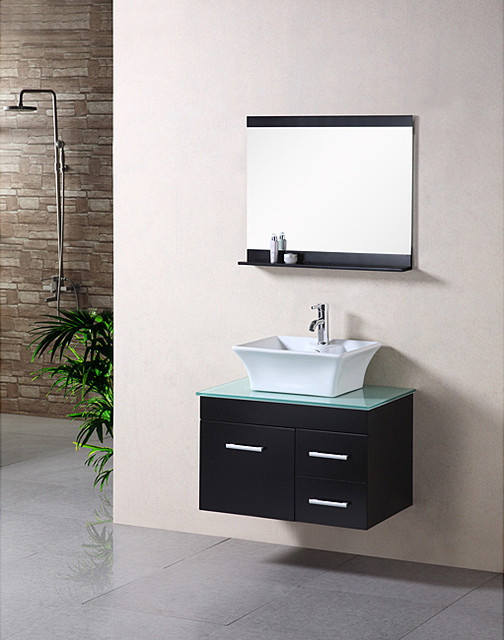 Floating Vanity Unit : ... Floating Vanity Set - Contemporary - Bathroom Vanity Units & Sink