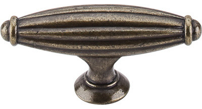 "Tuscany Small T-Handle 2 5/8"" - German Bronze modern-cabinet-and-drawer-knobs"