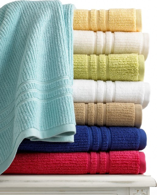 Martha Stewart Collection Quick Dry Bath Towel Collection Contemporary Bath Towels By Macy 39 S