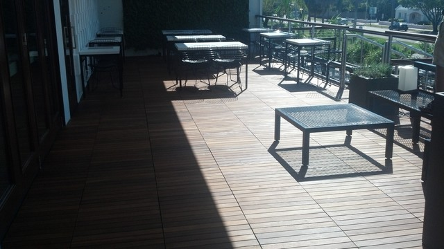 Deck tiles  wood flooring