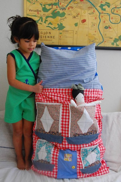 Giant Dollhouse Pillow by Cakies eclectic kids toys