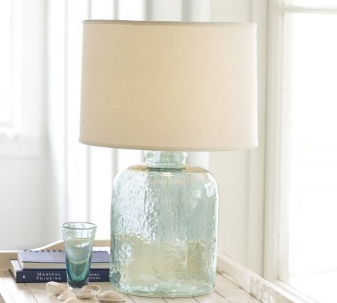 Devin Glass Table Lamp Base Contemporary Lamp Bases