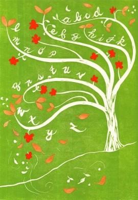 Alphabet Tree eclectic-artwork