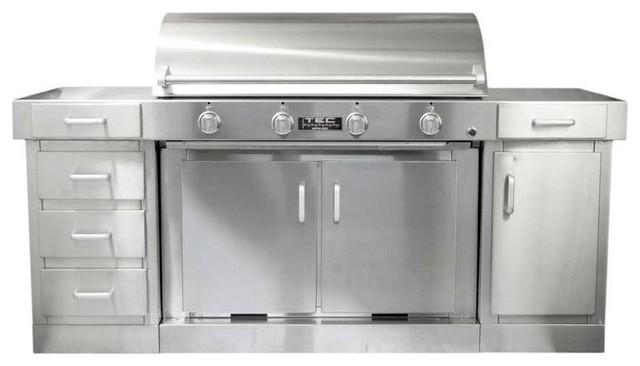 TEC G4000 FR Infrared Grill on Cabinet, Door, Drawer | LP modern-grills