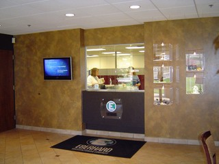 Office lobby - Strongsville, Ohio - Traditional - other metro - by Rae