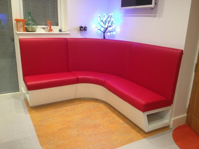 Fixed Corner Seating To Kitchen Contemporary East Midlands By A