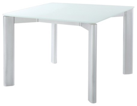 Oskar Square Dining Table with Glass Top modern-outdoor-tables