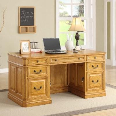 Whalen Cambria 66-in. Executive Computer Desk modern-desks