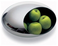 Modern Stainless Steel Fruit Bowl serving-and-salad-bowls