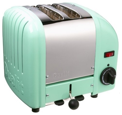 Mint Green Kitchen Appliances: Dualit 2-Slice Toaster, Mint Green