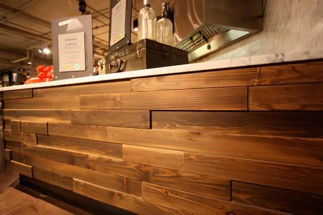 Wall Cladding Modern Hardwood Flooring Seattle By