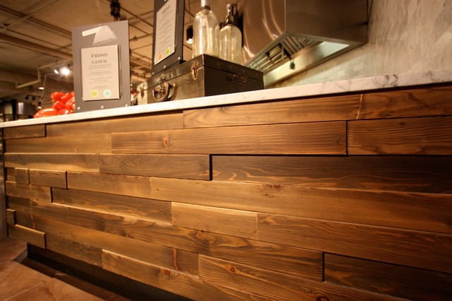 Wall Cladding Modern Hardwood Flooring Seattle By