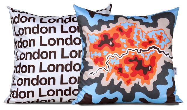 London Map Pillow contemporary-decorative-pillows