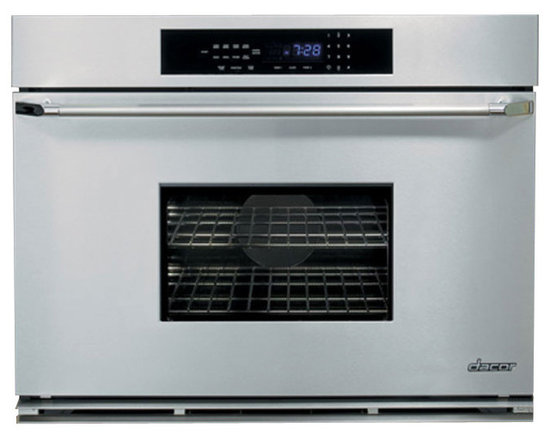 """Dacor Classic 36"""" Single Wall Oven, Stainless W/ Chrome Trim 