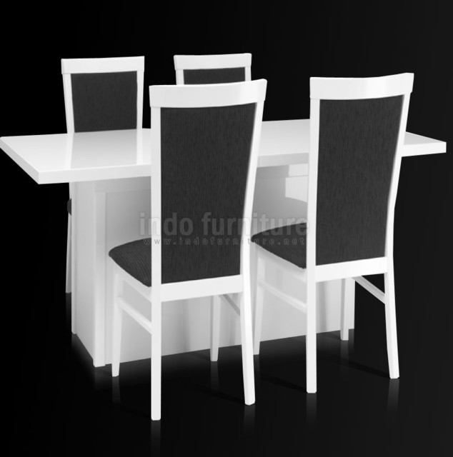 Meja Makan - Modern - Dining Tables - other metro - by Indo Furniture
