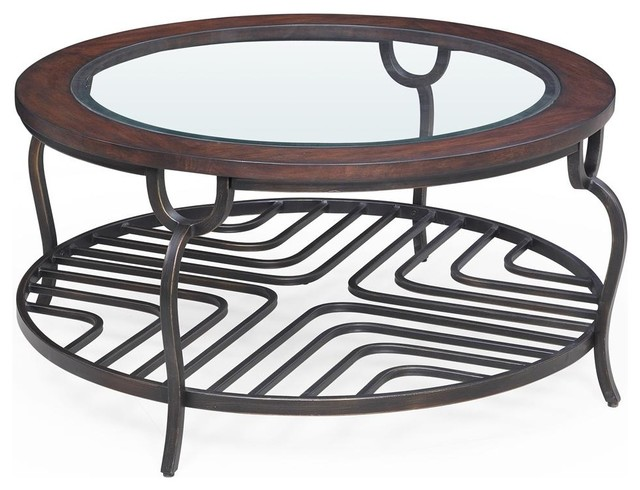 36 In Round Cocktail Table Contemporary Coffee Tables By Ivgstores
