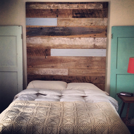 Reclaimed Wood Headboard Tall By Revival Supply Co Rustic headboards