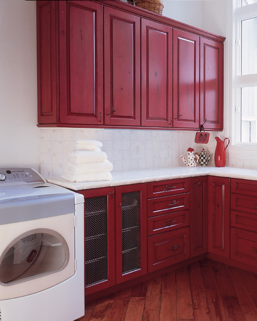 Cabinetry for Every Room in Your Home traditional laundry room