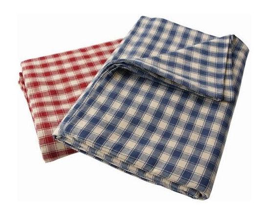La Campagne Checked Tablecloth - Rectangle -