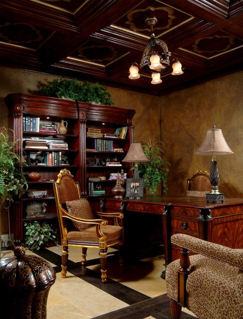Merritt Island estate home traditional-home-office