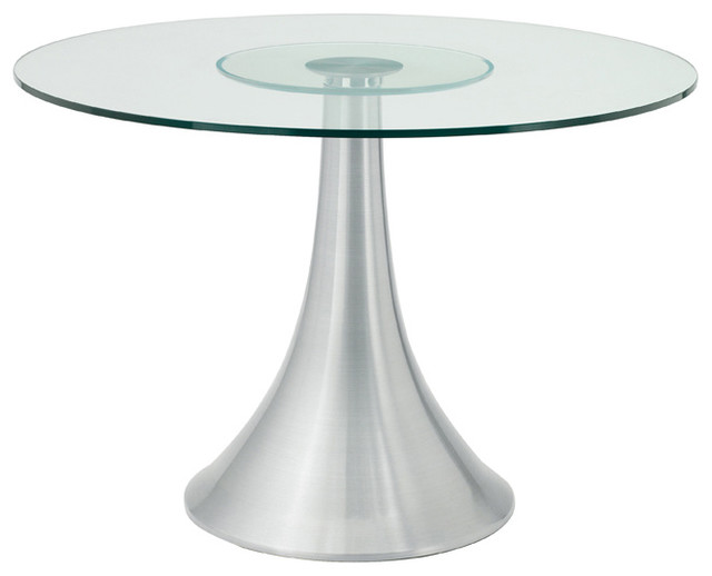 Satellite round dining table small modern dining tables by