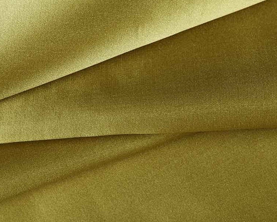 Beckett Reversible Silk Fabric in Moss Green - Beckett Reversible Silk Fabric in Moss Green is a high-shine 100% silk fabric. Each side has it's own eye-catching shade of green. Ideal for drapery, pillows, or light upholstery. Made in India from 100% silk. Width: 54″